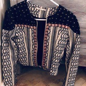 Tularosa Embellished Jacket Small